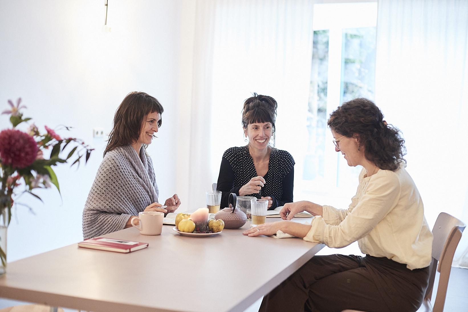 Anja Haag, Tamara Will, Edna Scheibe, raum Ottensen