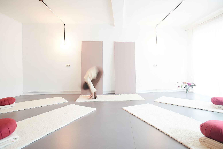 Edna Scheibe Yoga raum Ottensen